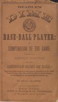 Beadle's dime base-ball player (1860)