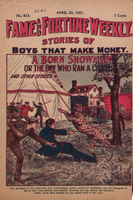 A born showman, or, The boy who ran a circus
