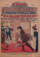 Old Hazard's errand boy, or, The nerve that won the money