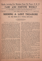 Seeking a lost treasure, or, The nerve of a young explorer