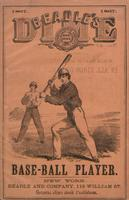 Beadle's dime base-ball player (1867)