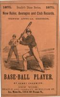 Beadle's dime base-ball player (1871)