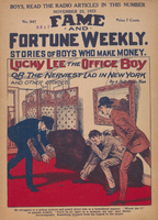 Lucky Lee the office boy, or, The nerviest lad in New York