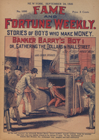 Banker Barry's boy, or, Gathering the dollars in Wall Street