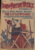 The little wizard, or, The success of a young inventor