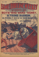 A young Barnum, or, Striking it rich in the show business
