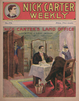 Nick Carter's land office, or, Outwitting a clever swindler