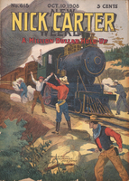 A million-dollar hold-up, or, Nick Carter after the train robbers