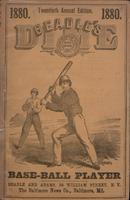Beadle's dime base-ball player (1880)