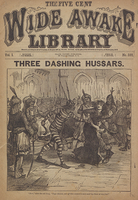 Three dashing Hussars
