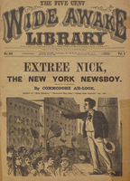 Extree Nick, the New York newsboy