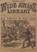Jack Harkaway on Magic Island