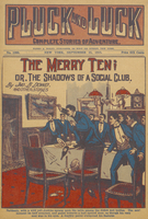The merry ten, or, The shadows of a social club