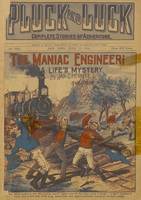 The maniac engineer, or, A life's mystery