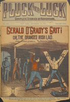 Gerald O'Grady's grit, or, The branded Irish lad