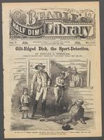 Gilt-edged Dick, the sport-detective, or, The road-agent's daughter