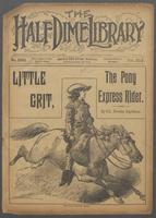 Little Grit, the wild rider, or, Bessie, the stock-tender's daughter