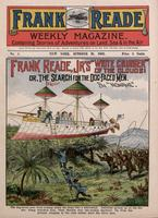 "Frank Reade, Jr.'s ""White Cruiser"" of the clouds, or, The search for the dog-faced men"