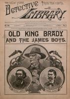 Old King Brady and the James boys