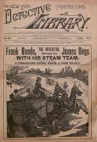 Frank Reade, the inventor, chasing the James boys with his steam team