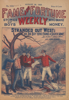 Stranded out West, or, The boy who found a silver mine