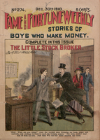 The little stockbroker, or, The boy with money to burn : a Wall Street story