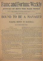 Bound to be a manager, or, Making money in baseball