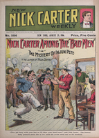 "Nick Carter among the ""bad men,"" or, The mystery of Injun Pete"