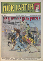 Klondike bank puzzle, or, Nick Carter's narrow escape