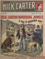 Nick Carter and the missing jewels, or, A tale of uncertain clews