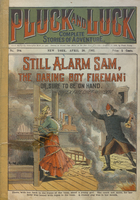 Still alarm Sam, the daring boy fireman, or, Sure to be on hand