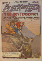The boy tenderfoot, or, The outlaws of Crooked Canyon