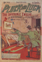 The invisible twelve, an Irish romance of the present day