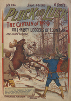 The captain of no. 9, or, The boy loggers of Loon Lake