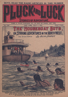 The houseboat boys, or, Stirring adventures in the Northwest