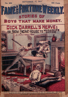 Dick Darrell's nerve, or, From engine-house to manager's office