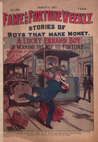 A lucky errand boy, or, Working his way to fortune