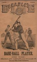 Beadle's dime base-ball player (1866)