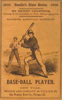Beadle's dime base-ball player (1869)