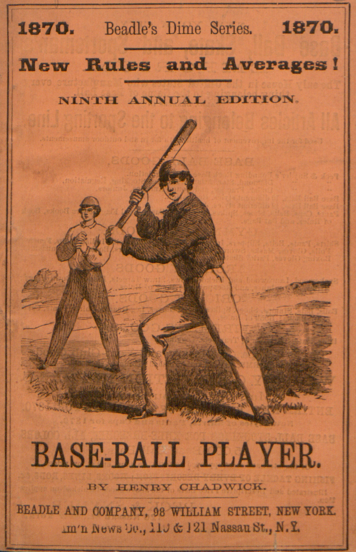 Beadle's dime base-ball player (1870)