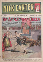 Amazonian queen, or, Nick Carter becomes a gladiator