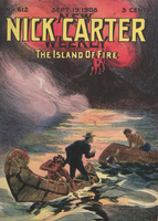 The island of fire, or, Nick Carter's weird experience