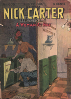 A woman at bay, or, Nick Carter's great burglary case