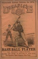 Beadle's dime base-ball player (1874)