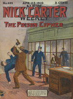 The Prison Cipher, or, Nick Carter and the mysterious substitute