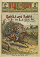 Saddle and sabre, or, The boys in blue's hard ride