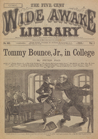 Tommy Bounce, Jr., in college