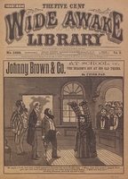 Johnny Brown & Co. at school, or, The deacon's boy at his old tricks