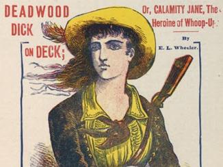 Deadwood Dick on deck, or, Calamity Jane, the heroine of Whoop-up : a story of Dakota